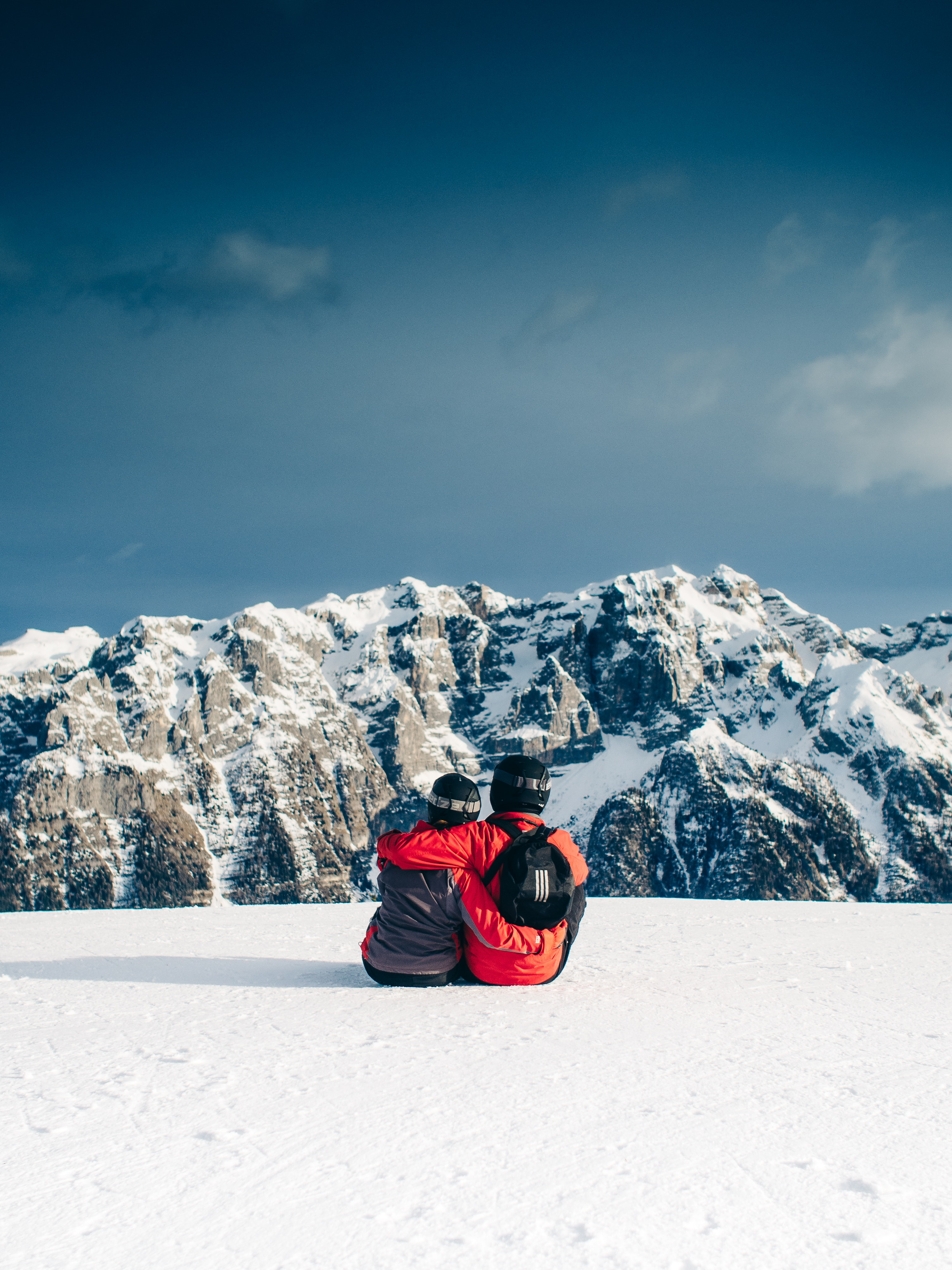 120111 download wallpaper Sports, Mountains, Couple, Pair, Journey screensavers and pictures for free