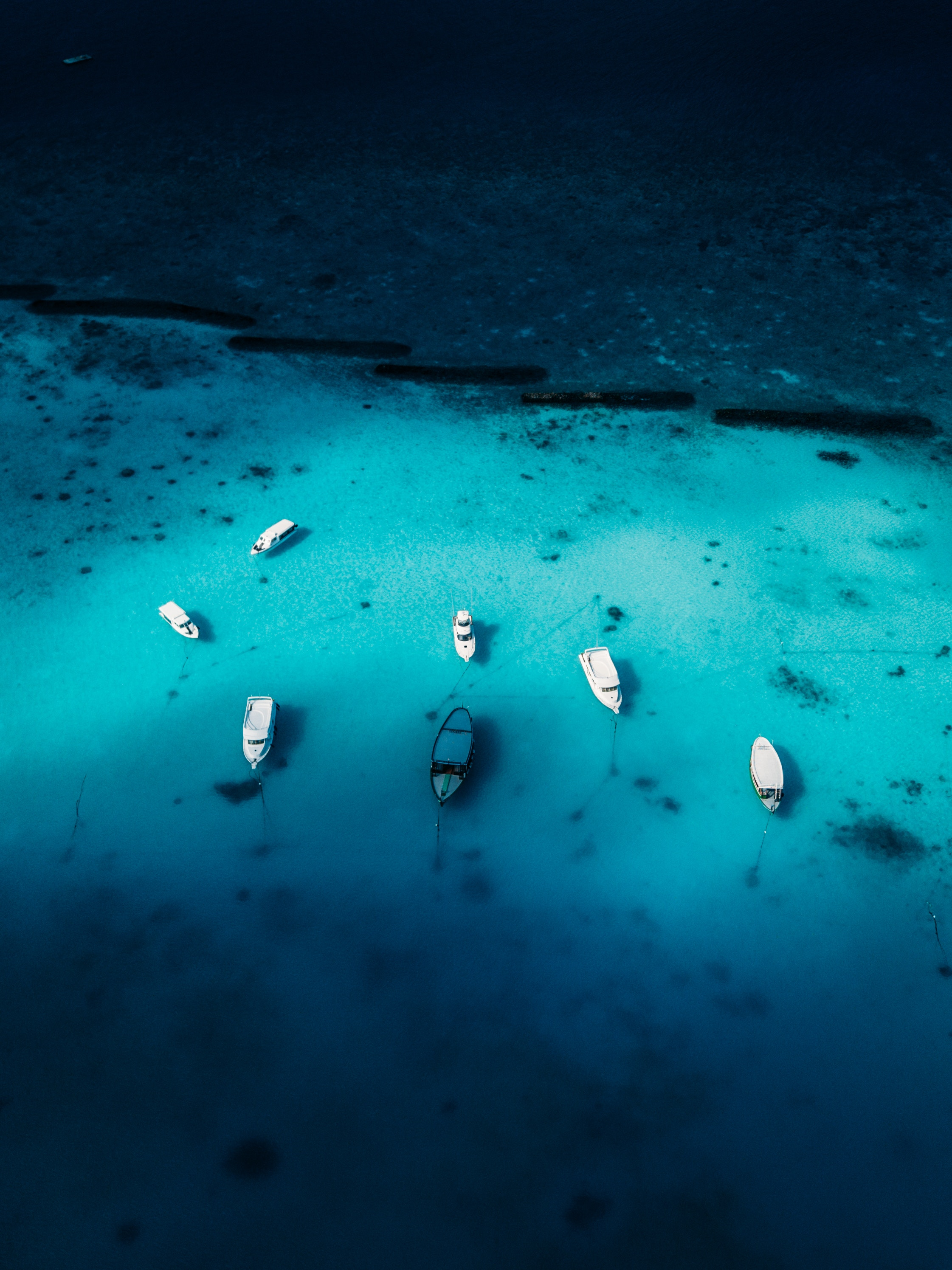 105125 Заставки и Обои Яхты на телефон. Скачать Природа, Лодки, Вид Сверху, Океан, Яхты картинки бесплатно