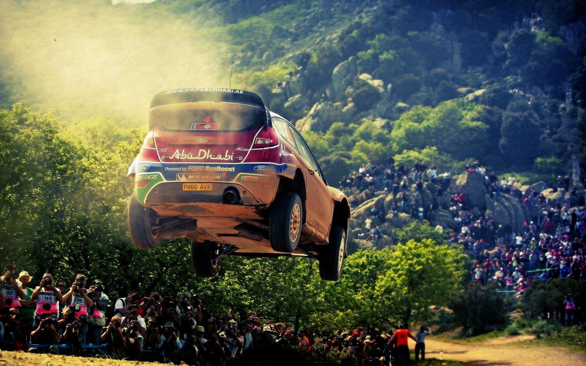 89727 Hintergrundbild herunterladen Rallye, Sport, Rennen, Ford, Abu Dhabi, Abu-Dhabi - Bildschirmschoner und Bilder kostenlos