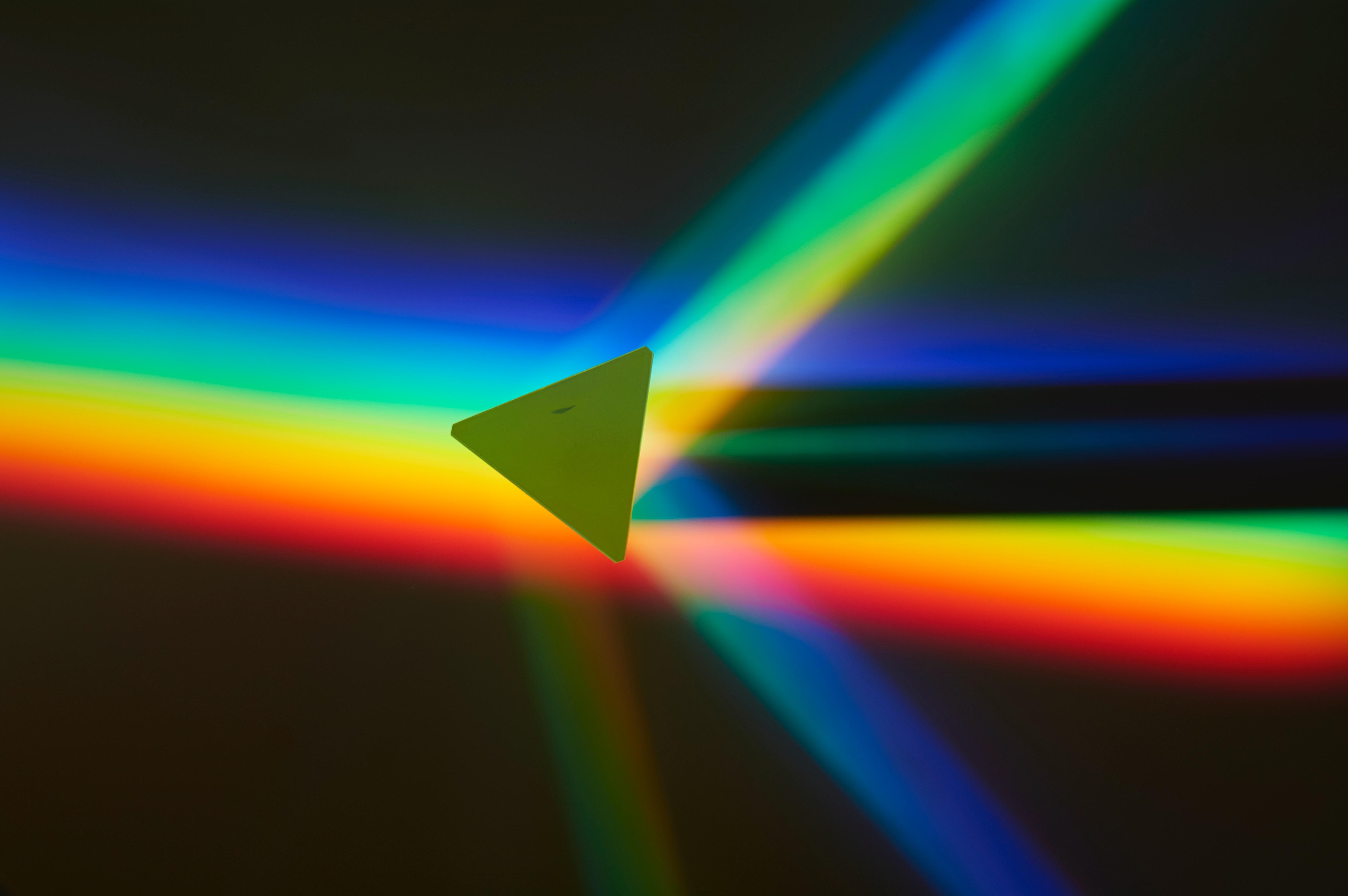 140643 免費下載壁紙 抽象, 三角形, 数字, 形状, 彩虹, 多彩多姿, 五颜六色 屏保和圖片