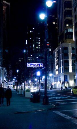 20016 скачать обои Пейзаж, Города, Ночь - заставки и картинки бесплатно