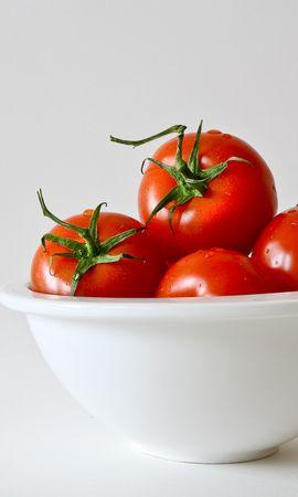 120908 télécharger le fond d'écran Minimalisme, Tomates, Plaque, Assiette, Légumes - économiseurs d'écran et images gratuitement