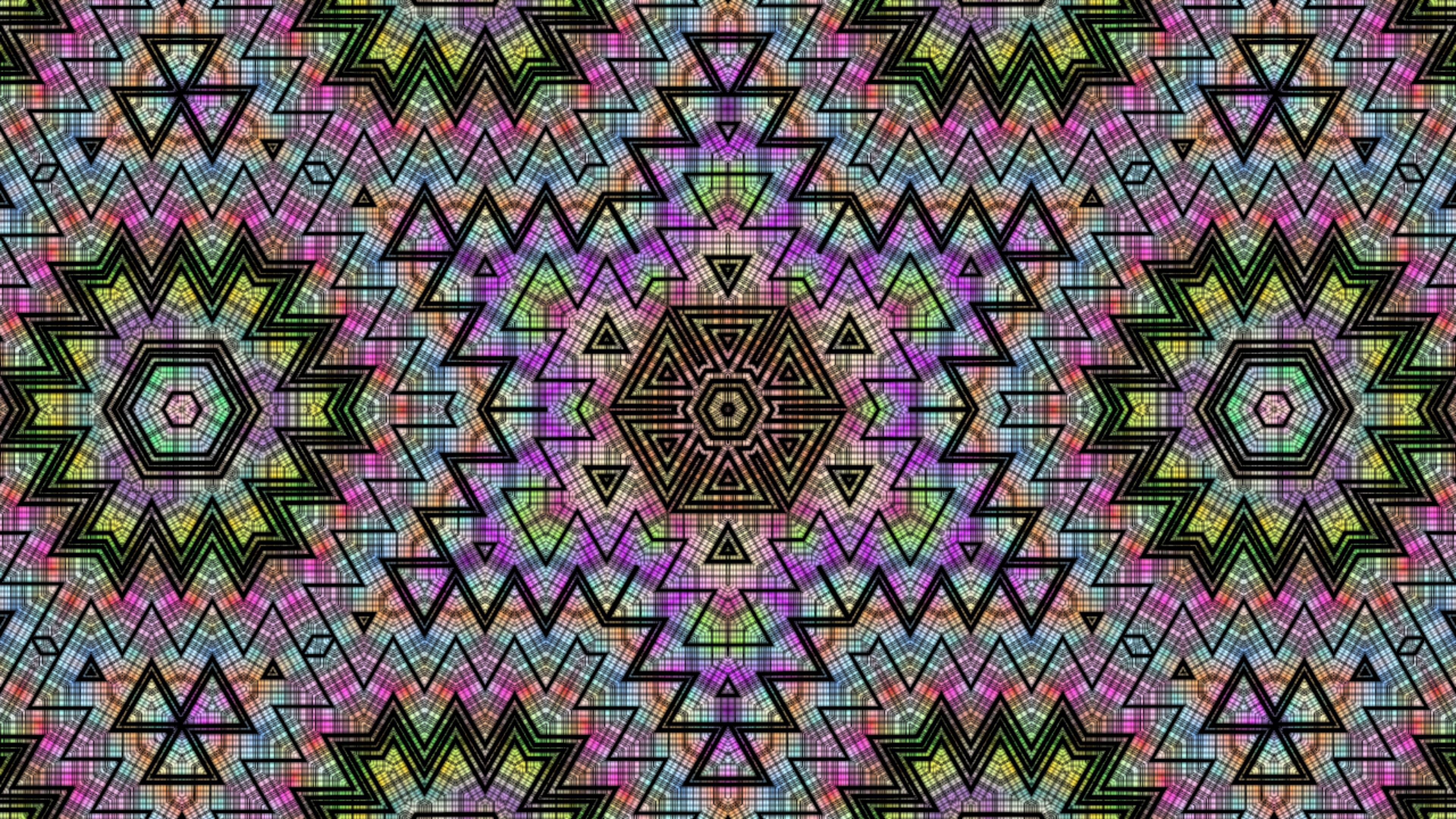 79610 download wallpaper Abstract, Kaleidoscope, Zigzags, Patterns screensavers and pictures for free