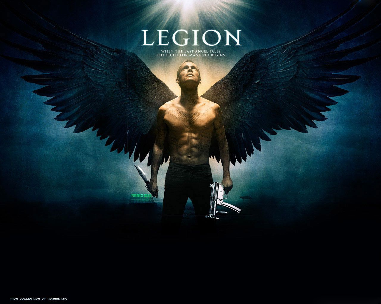 8694 download wallpaper Cinema, People, Actors, Men, Legion, Paul Bettany screensavers and pictures for free