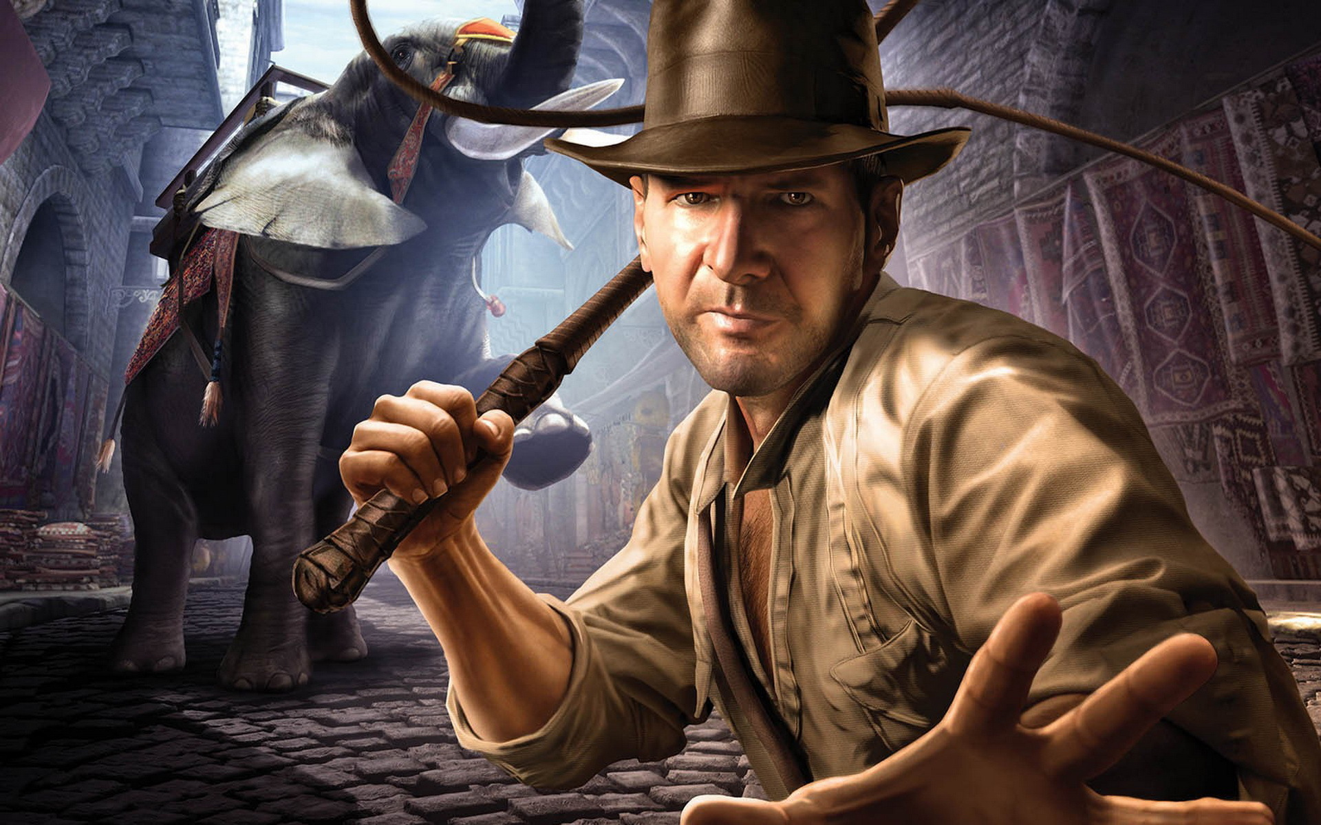 9651 download wallpaper Cinema, Games, People, Actors, Men, Pictures, Indiana Jones, Harrison Ford screensavers and pictures for free