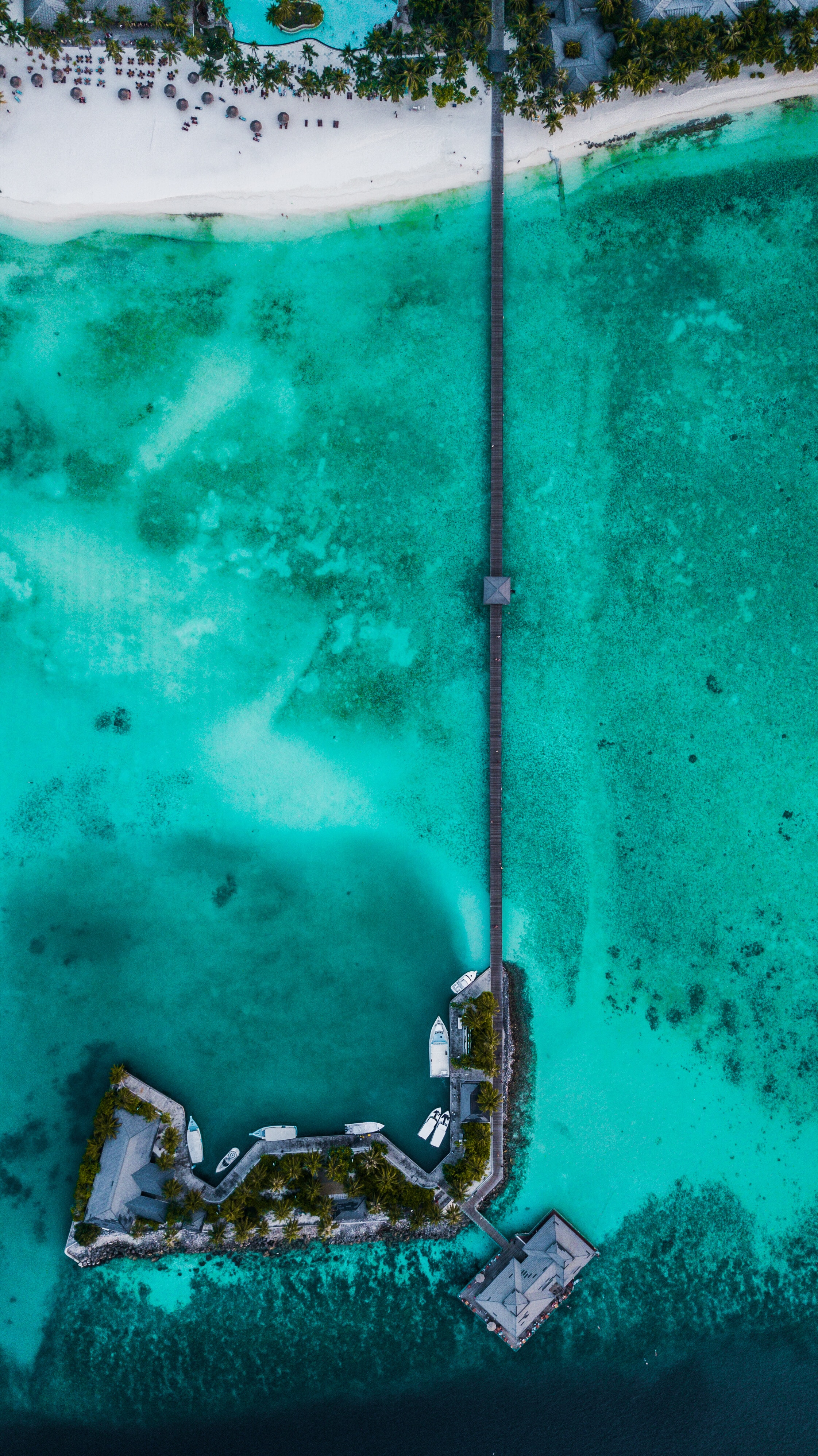 63135 免費下載壁紙 性质, 岛, 岛屿, 码头, 皮尔斯, 从上面看, 顶视图, 海洋, 热带, 热带地区 屏保和圖片