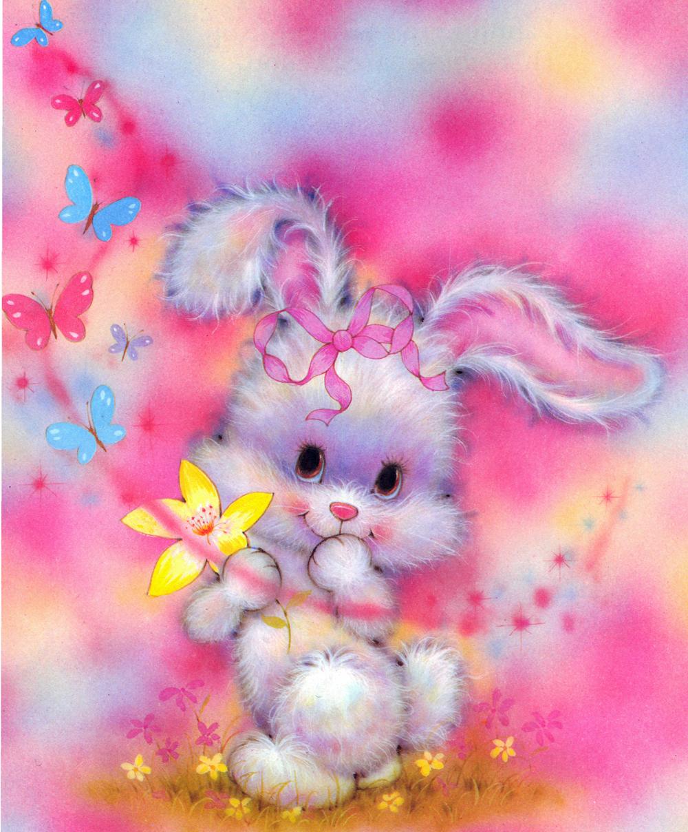 12435 скачать обои Рисунки, Животные, Кролики - заставки и картинки бесплатно