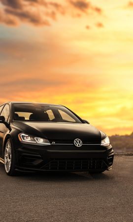 149874 Screensavers and Wallpapers Volkswagen for phone. Download Cars, Volkswagen R, Volkswagen, Car, Machine, Front View, Headlights, Lights pictures for free
