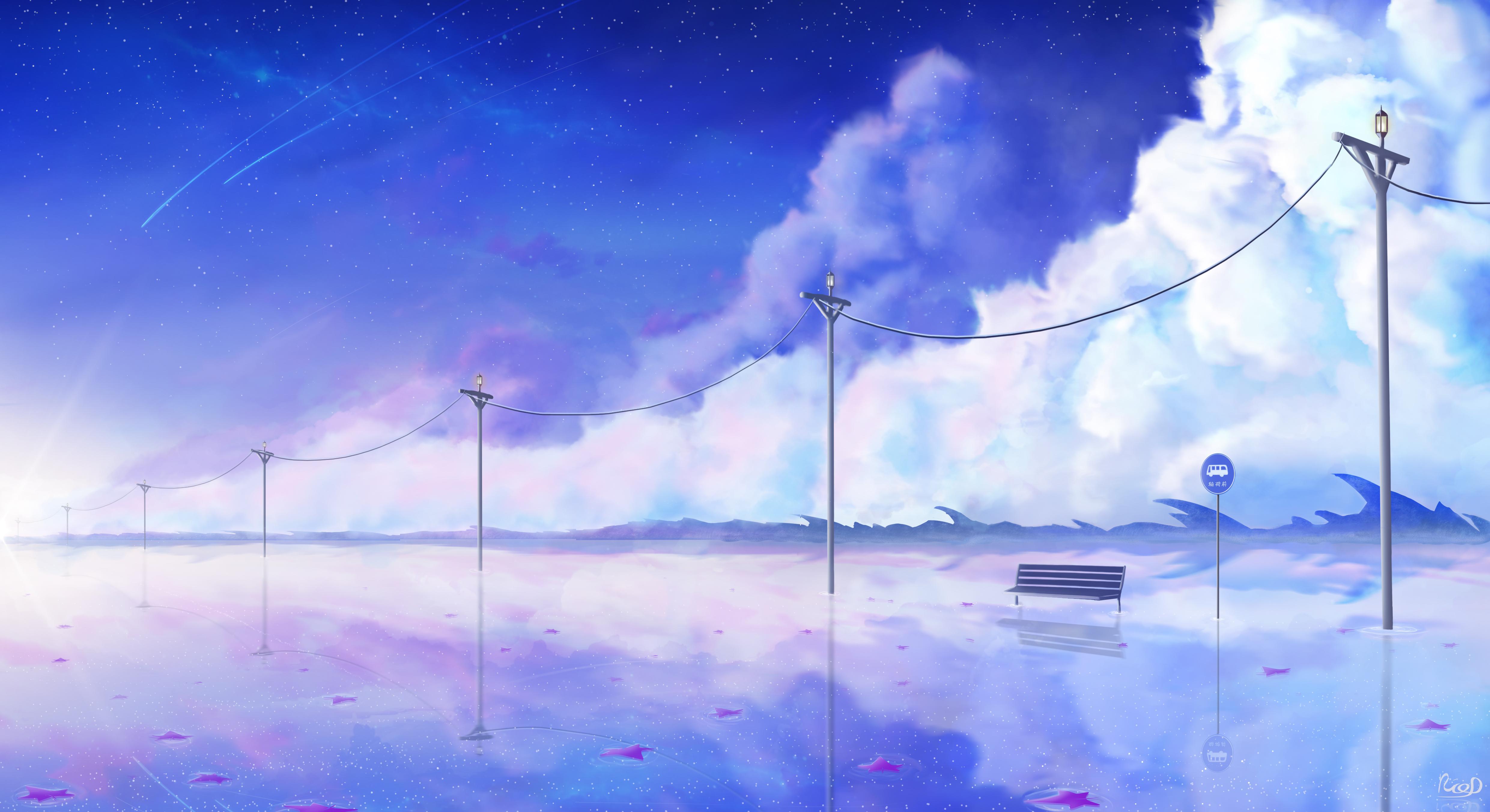 92436 papel de parede 1080x2400 em seu telefone gratuitamente, baixe imagens Arte, Nuvens, Banco, Fios, Arame, Fada, Fabuloso 1080x2400 em seu celular
