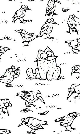 13902 download wallpaper Funny, Pictures, Simon's Cat screensavers and pictures for free