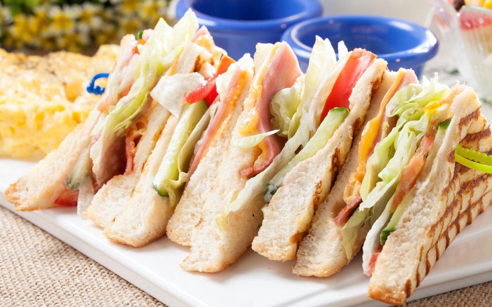 免費壁紙138820:食物, 一个三明治, 三明治, 面包, 肉, 蔬菜 下載手機圖片