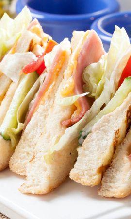 138820 télécharger le fond d'écran Nourriture, Un Sandwich, Sandwich, Pain, Viande, Légumes - économiseurs d'écran et images gratuitement