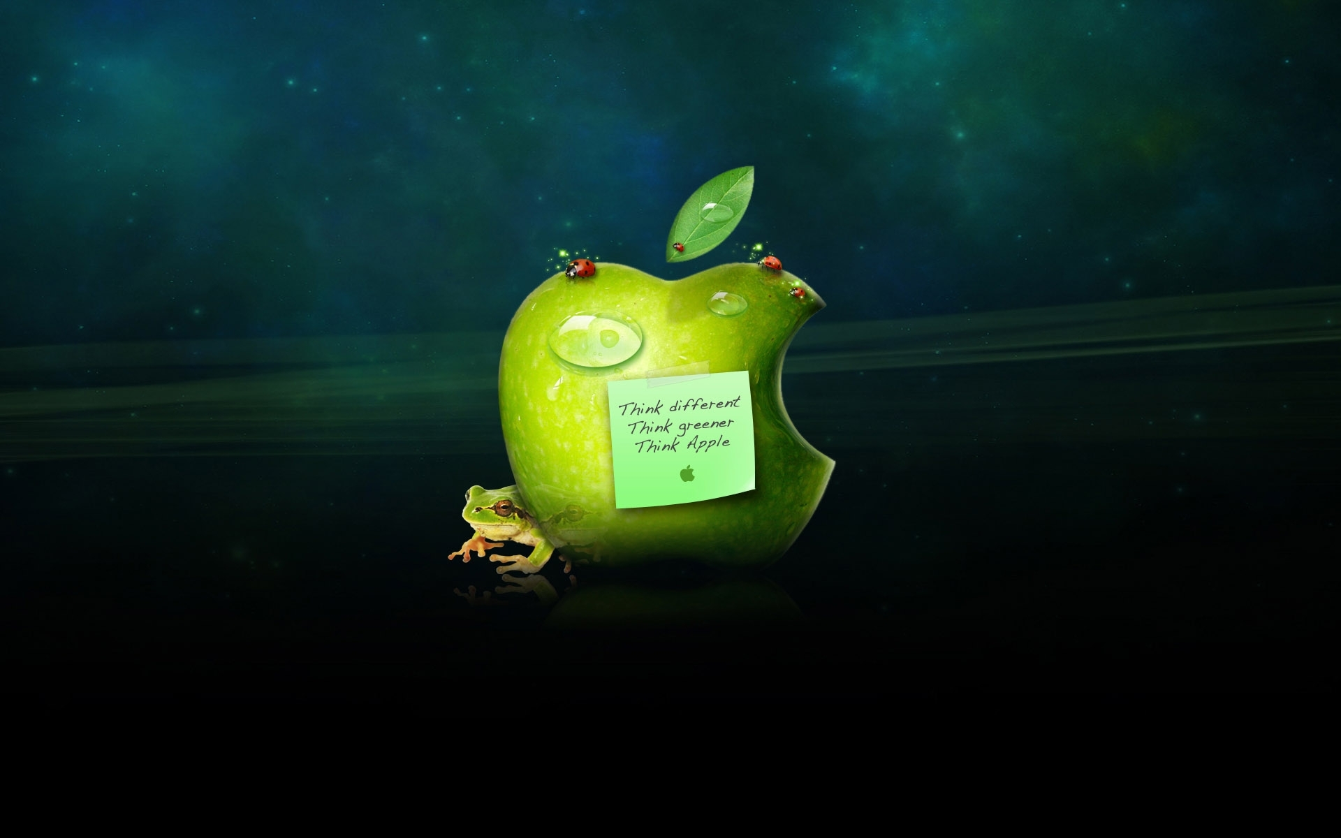 17676 Hintergrundbild herunterladen Apple-, Marken, Hintergrund - Bildschirmschoner und Bilder kostenlos