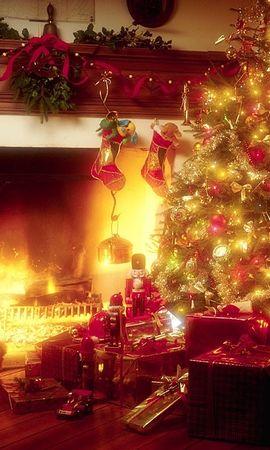 481 descargar fondo de pantalla Vacaciones, Año Nuevo, Navidad: protectores de pantalla e imágenes gratis
