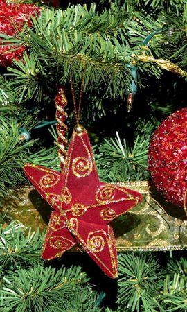 138329 descargar fondo de pantalla Vacaciones, Árbol De Navidad, Agujas, Decoraciones De Navidad, Juguetes De Árbol De Navidad, Pelotas, Bolas, Día Festivo, Estrellas: protectores de pantalla e imágenes gratis