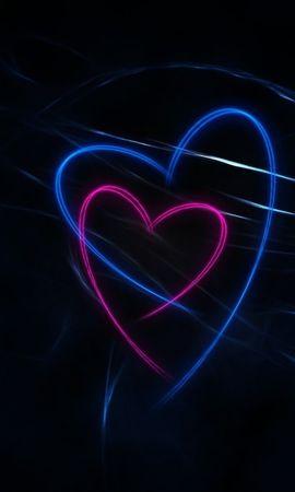 23015 скачать обои Праздники, Фон, Сердца, Любовь, День Святого Валентина (Valentine's Day) - заставки и картинки бесплатно