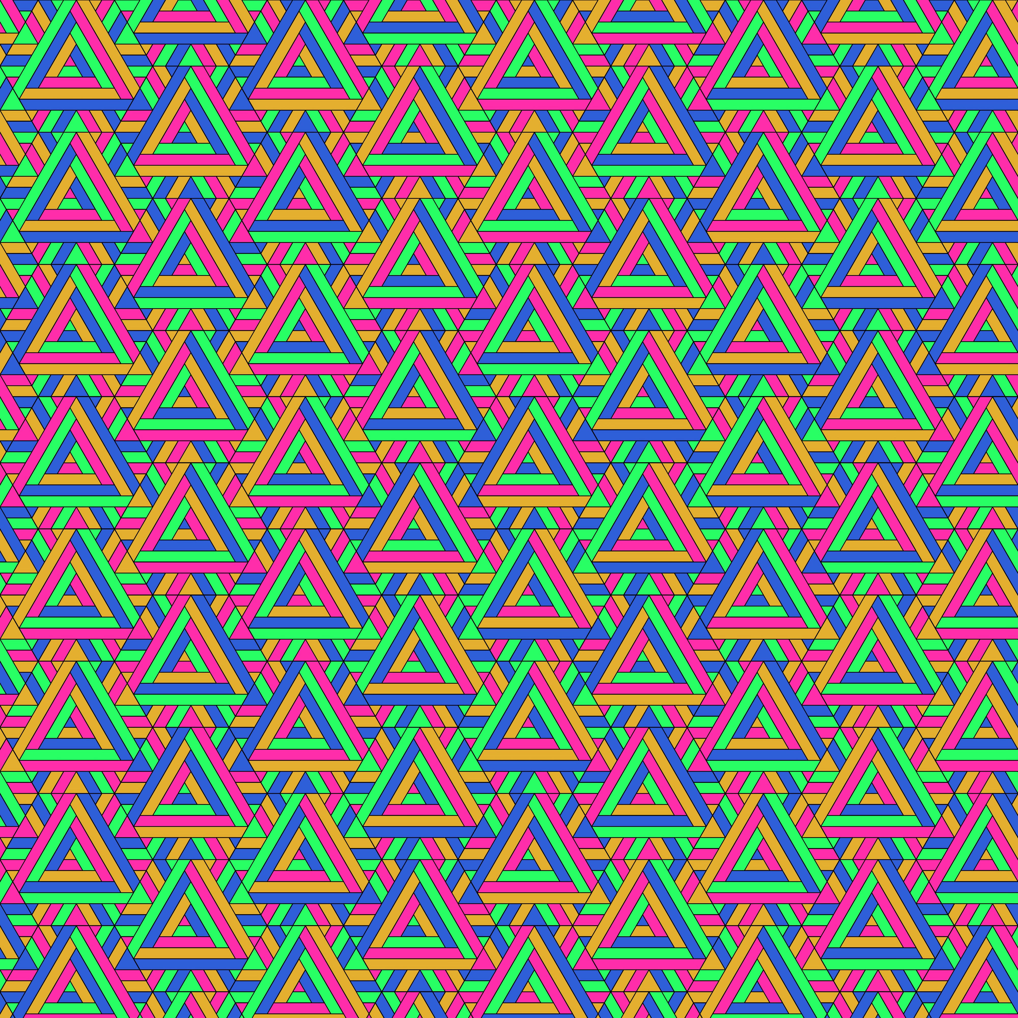 153271 download wallpaper Textures, Texture, Triangles, Pattern, Geometric, Multicolored, Motley screensavers and pictures for free