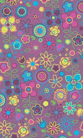 12601 скачать обои Цветы, Фон, Рисунки, Узоры - заставки и картинки бесплатно