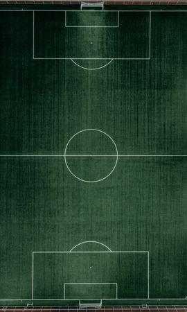 97790 descargar fondo de pantalla Deportes, Campo De Fútbol, Vista Desde Arriba, Fútbol, Césped: protectores de pantalla e imágenes gratis