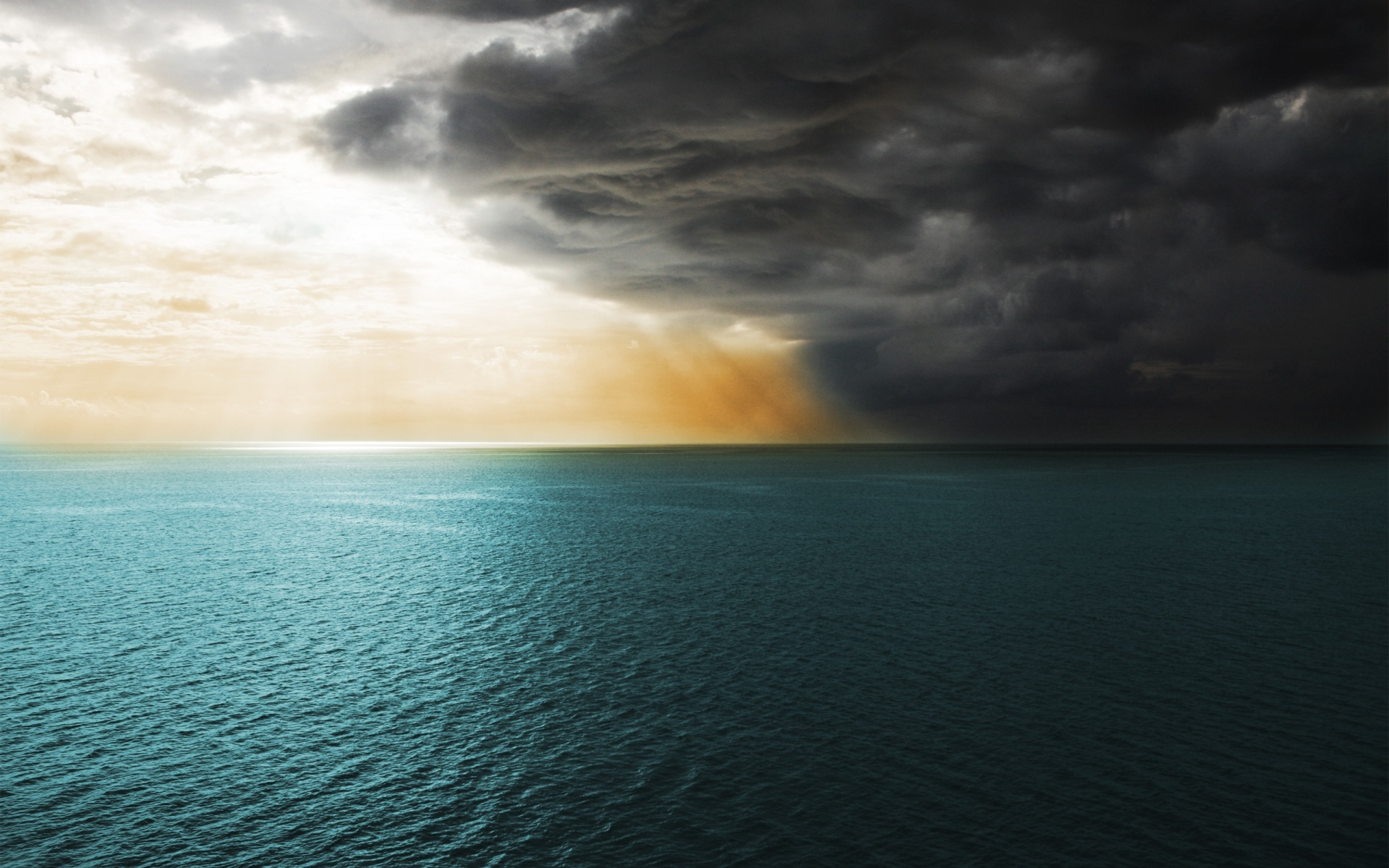 21967 download wallpaper Landscape, Sunset, Sea, Clouds screensavers and pictures for free