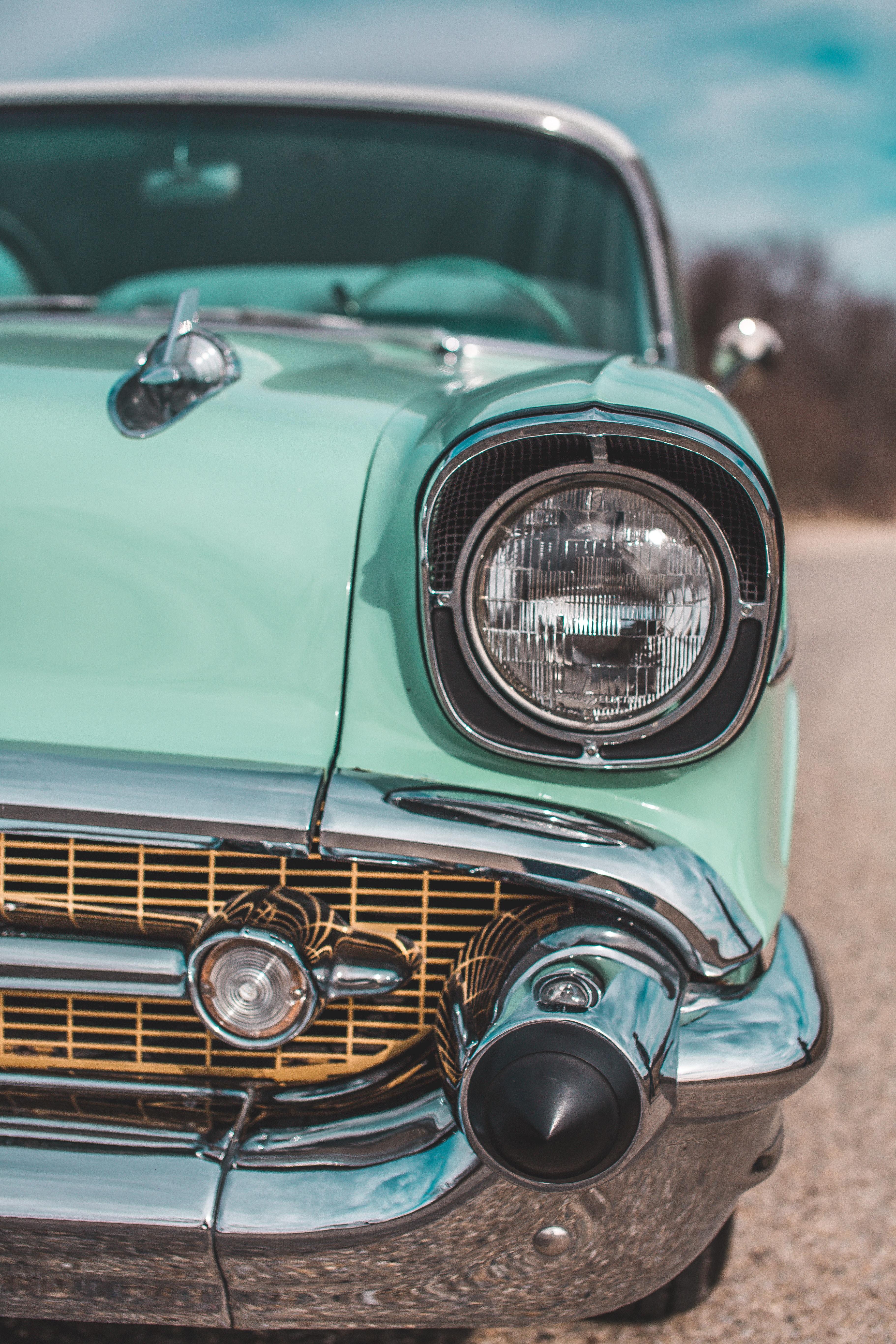 66788 скачать обои Тачки (Cars), Фара, Машины, Ретро, Вид Спереди - заставки и картинки бесплатно