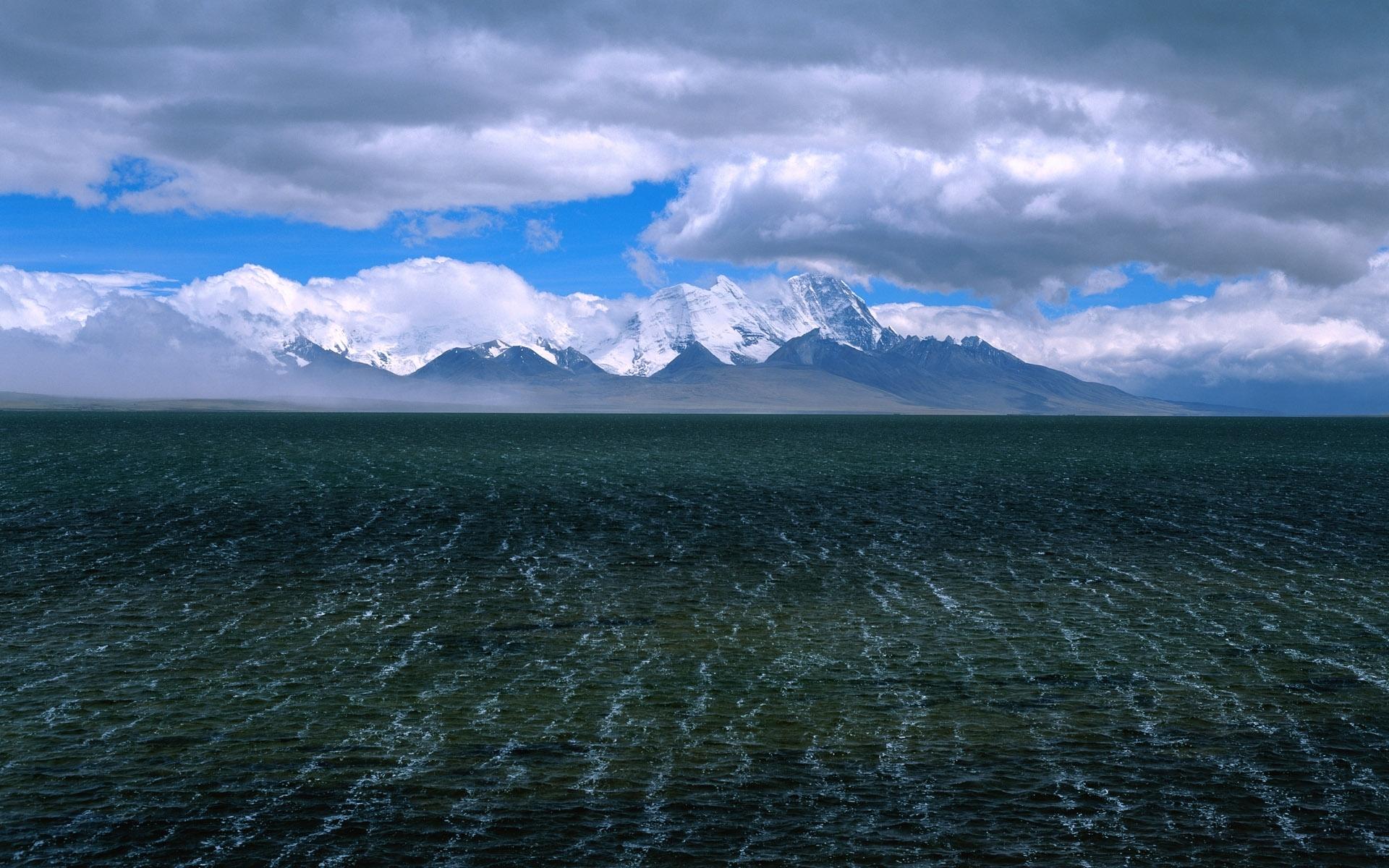 7257 скачать обои Пейзаж, Горы, Море - заставки и картинки бесплатно