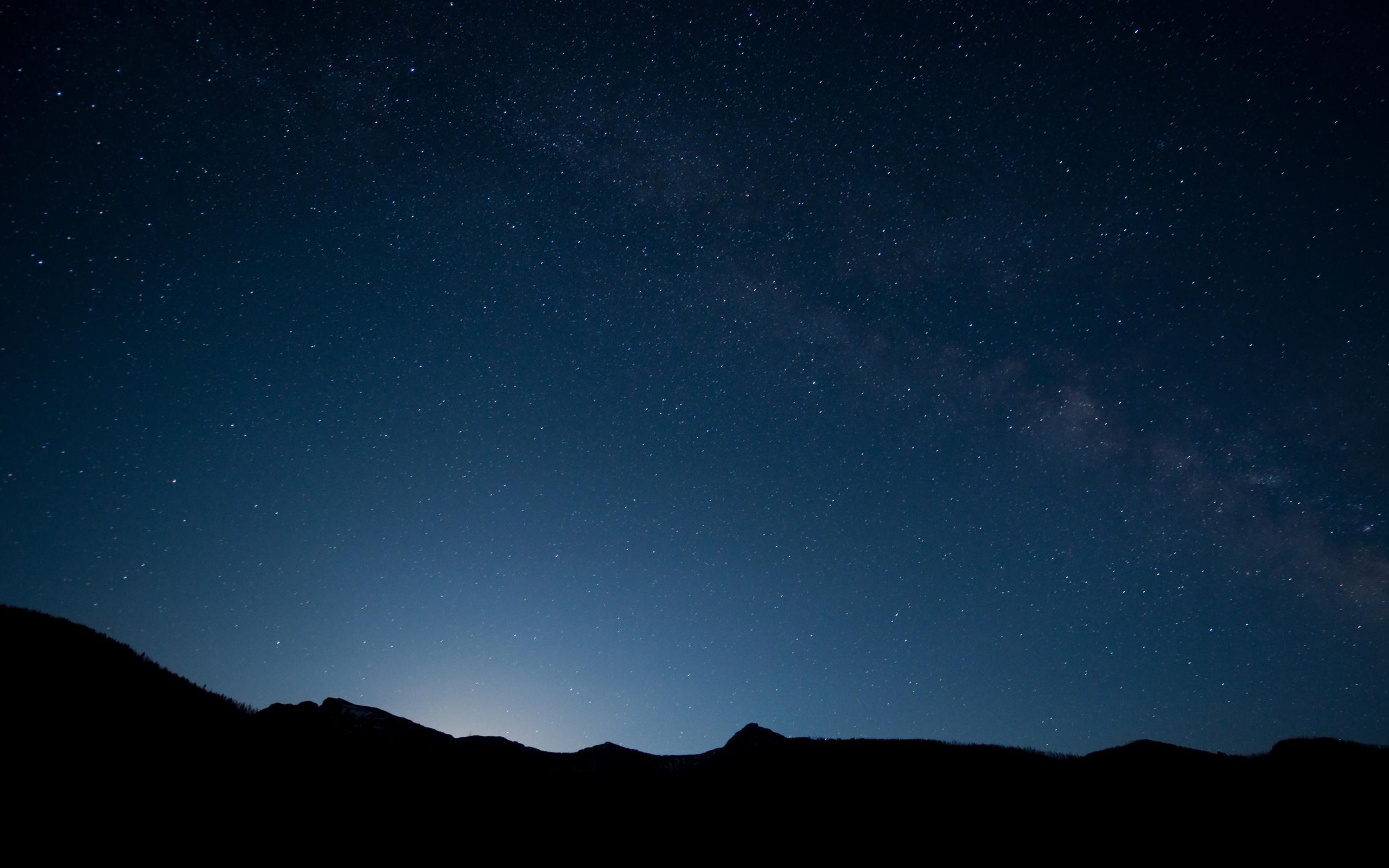 Скачать картинку Звезды, Ночь, Пейзаж, Небо в телефон бесплатно.