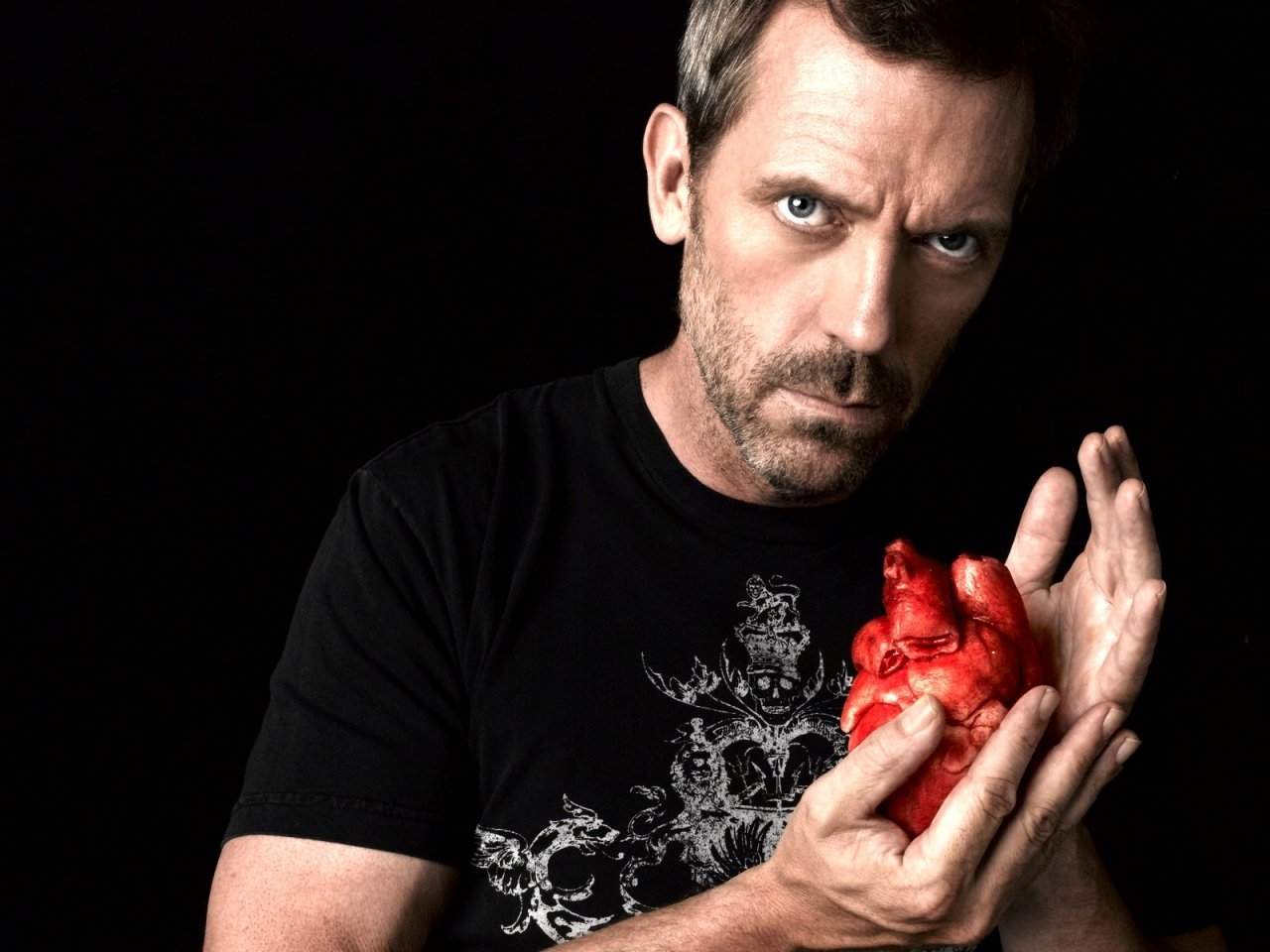 8910 download wallpaper Cinema, People, Actors, Men, House M.d., Hugh Laurie screensavers and pictures for free