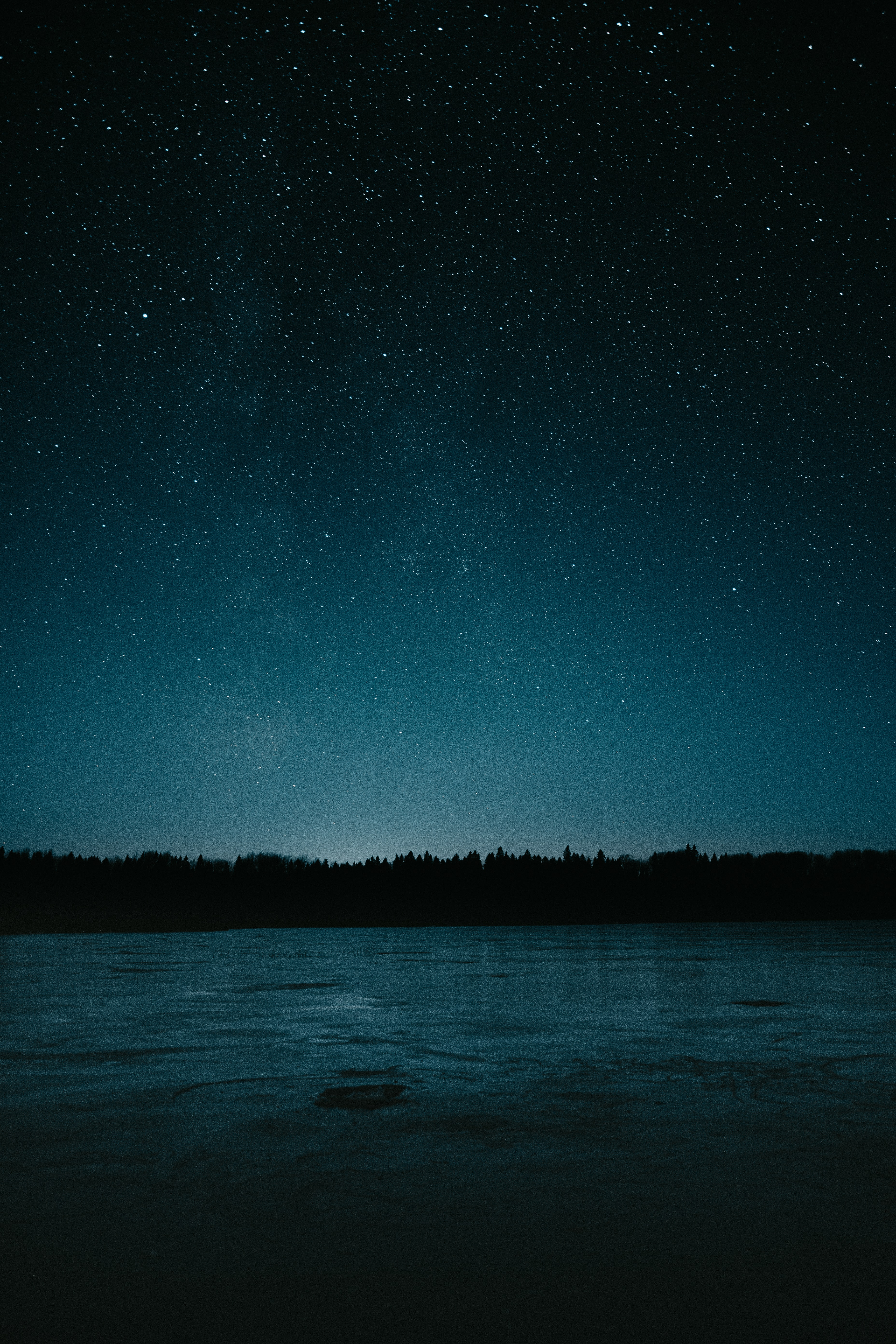 85359 download wallpaper Dark, Night, Lake, Starry Sky screensavers and pictures for free