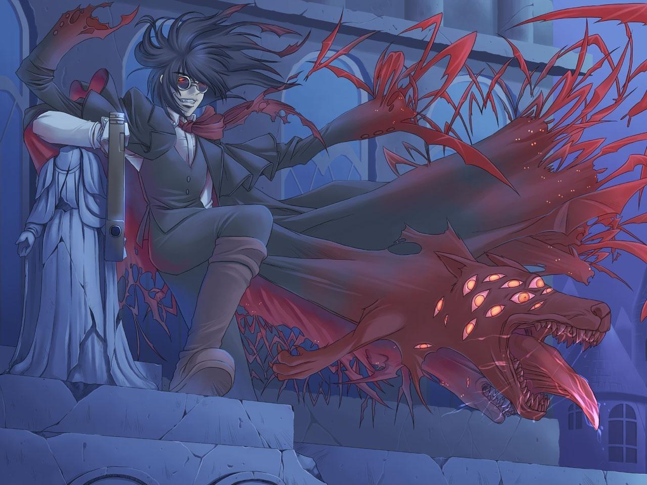 29557 descargar fondo de pantalla Anime, Hombres, Vampiros: protectores de pantalla e imágenes gratis