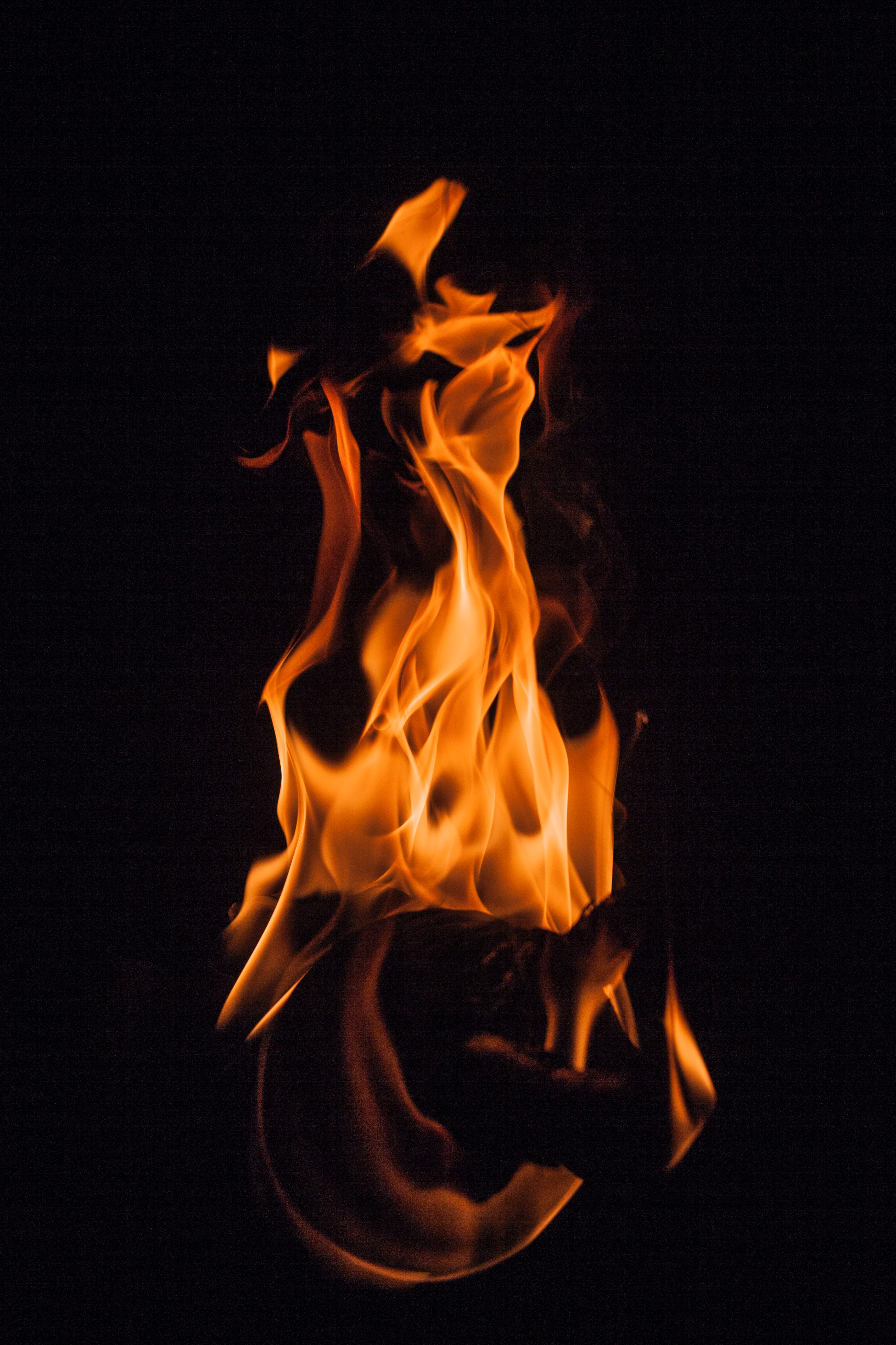 79393 Screensavers and Wallpapers Firewood for phone. Download Fire, Bonfire, Dark, Flame, Darkness, Firewood, Shroud pictures for free