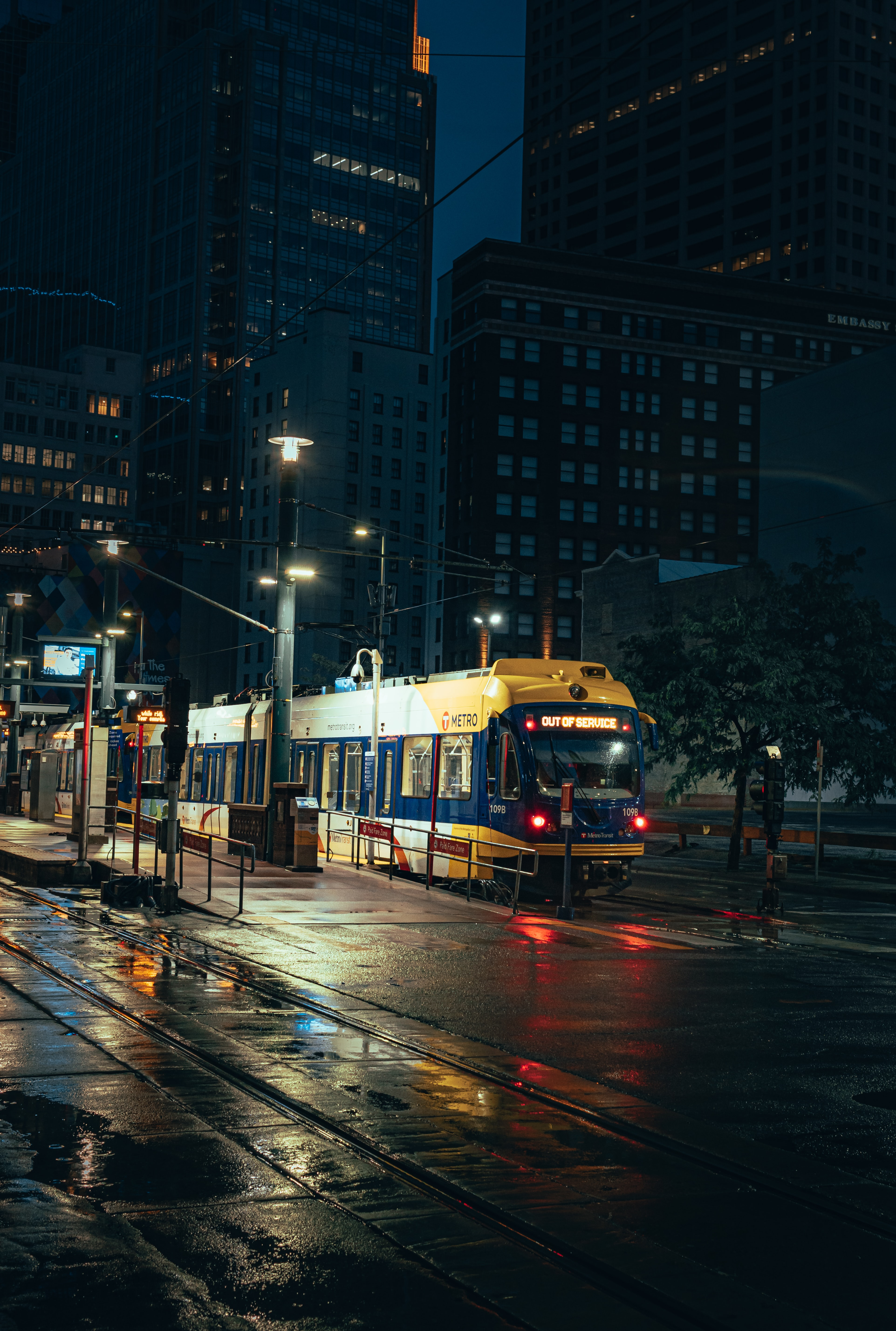 89971 Screensavers and Wallpapers Metro for phone. Download Night City, Cities, Rails, Train, Metro, Subway pictures for free