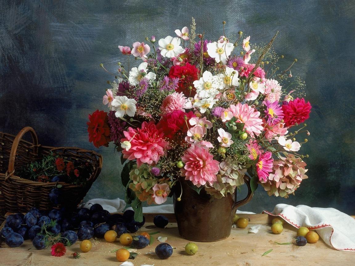 46366 скачать обои Растения, Цветы, Букеты - заставки и картинки бесплатно