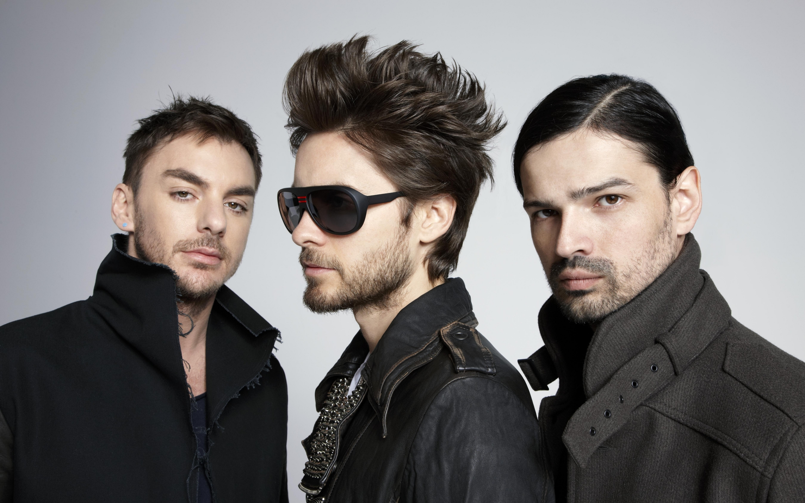 32869 Screensavers and Wallpapers Artists for phone. Download Music, People, Artists, Men, 30 Seconds To Mars pictures for free