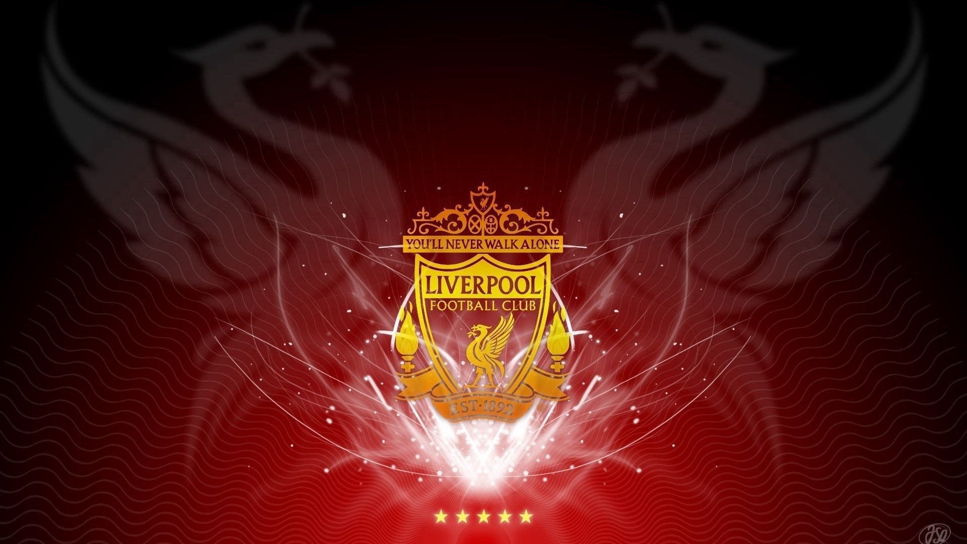 132696 download wallpaper Sports, Liverpool, Club, Football, Emblem, Stars screensavers and pictures for free