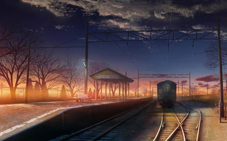 48287壁紙のダウンロード風景, 列車-スクリーンセーバーと写真を無料で