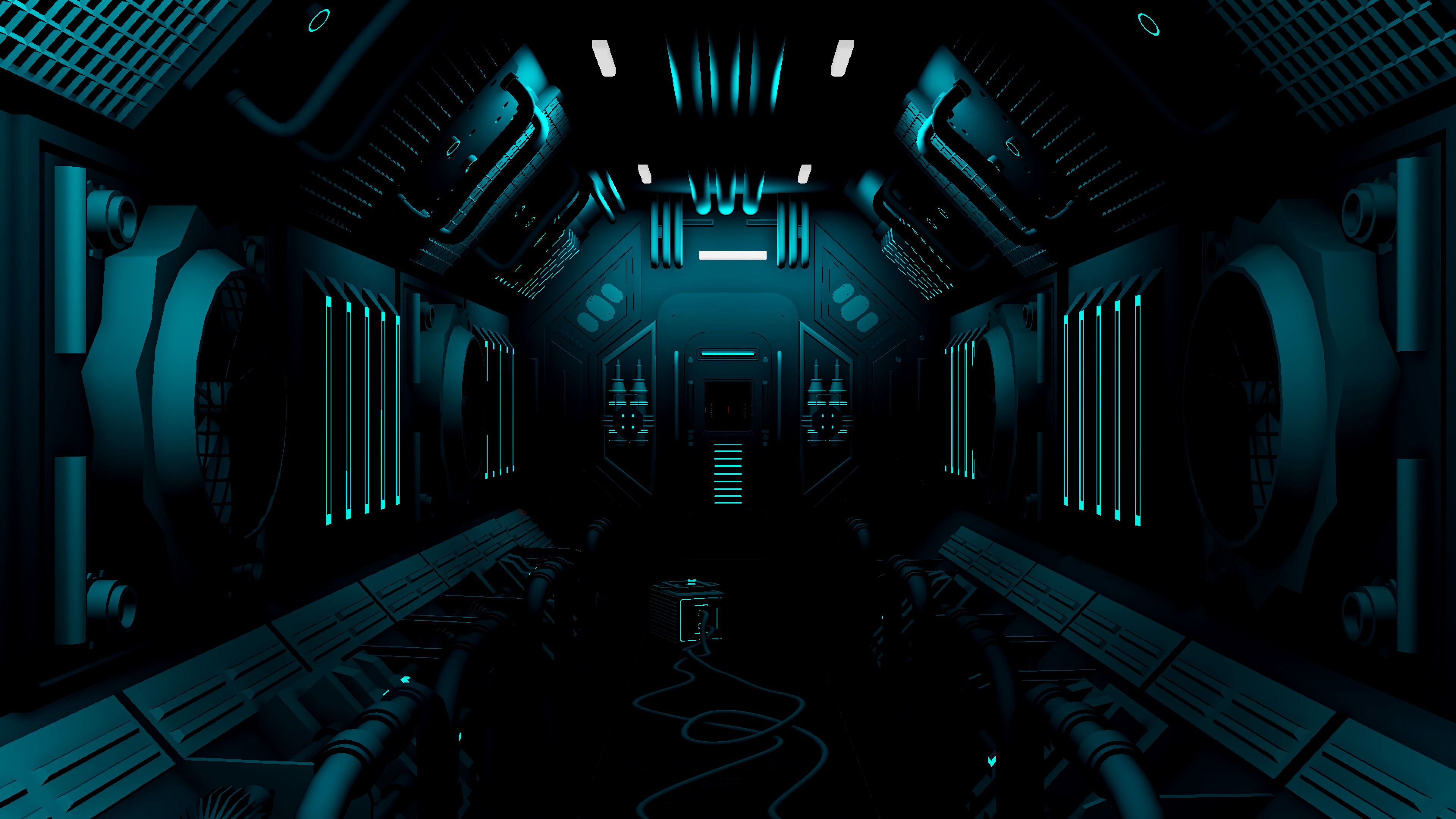 85394 Screensavers and Wallpapers Sci-Fi for phone. Download Art, Dark, Corridor, Sci-Fi, Station pictures for free