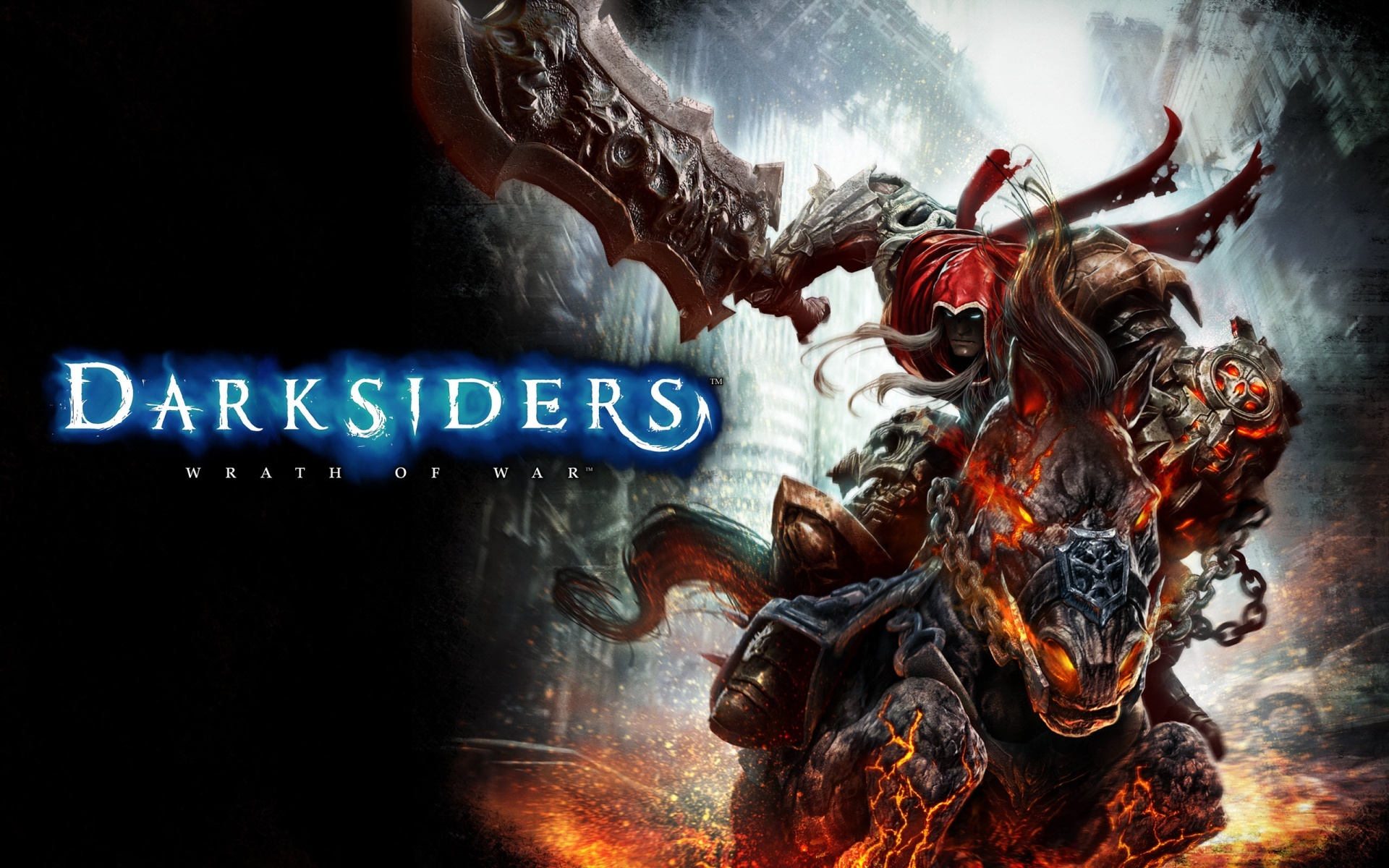 18120 download wallpaper Games, Darksiders: Wrath Of War screensavers and pictures for free