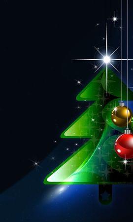 21553 descargar fondo de pantalla Vacaciones, Fondo, Año Nuevo, Navidad: protectores de pantalla e imágenes gratis