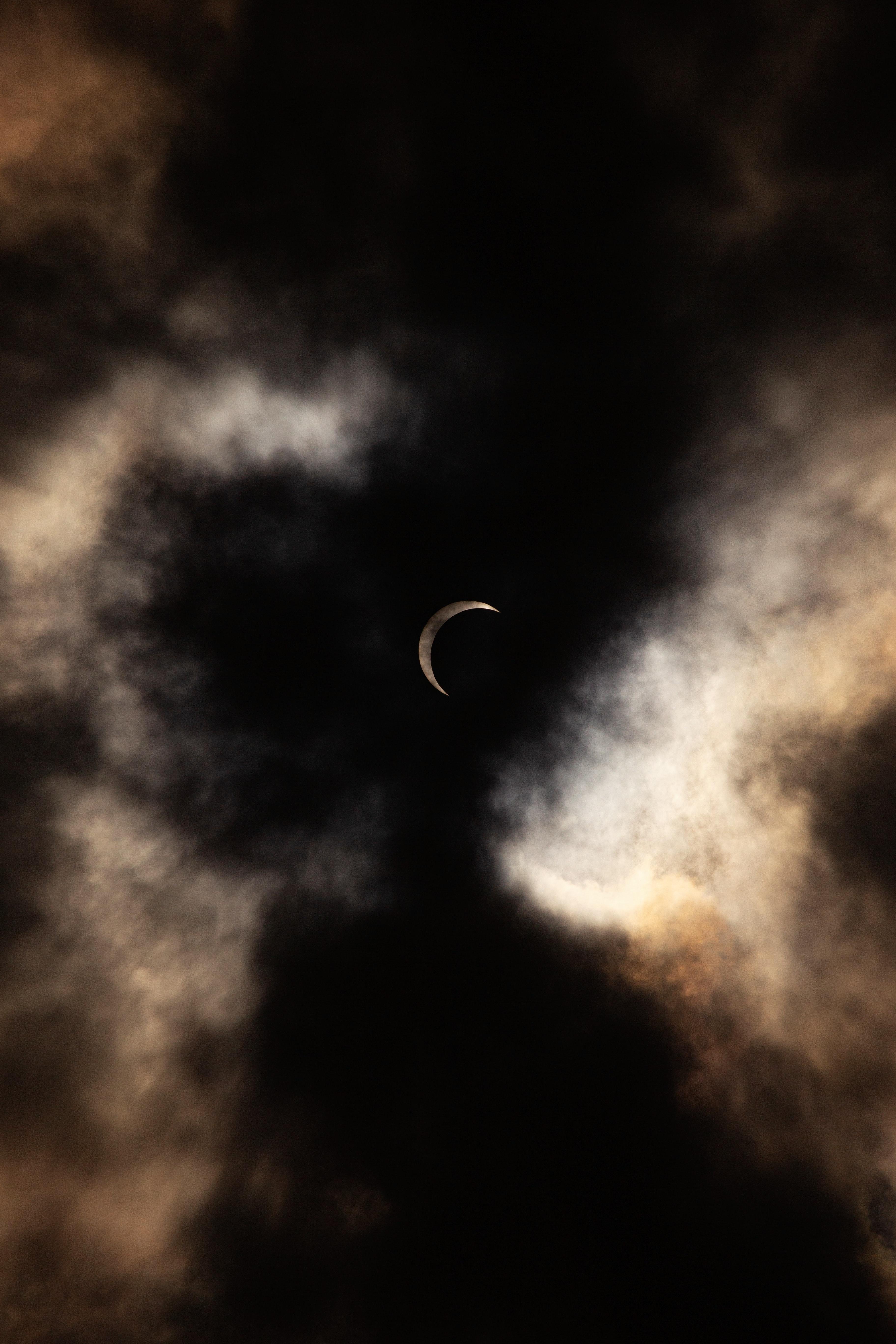 133962 免費下載壁紙 黑暗的, 黑暗, 月球, 云, 夜 屏保和圖片