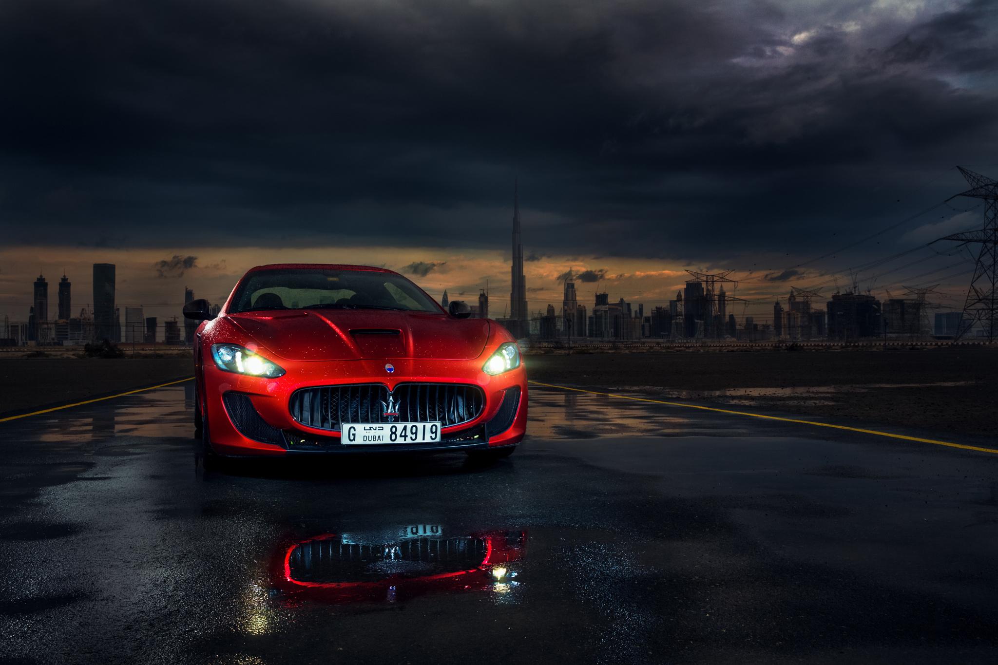 122496 Hintergrundbild herunterladen Maserati, Cars, Vorderansicht, Frontansicht, Gran Turismo, Granturismo, Mc Stradale - Bildschirmschoner und Bilder kostenlos