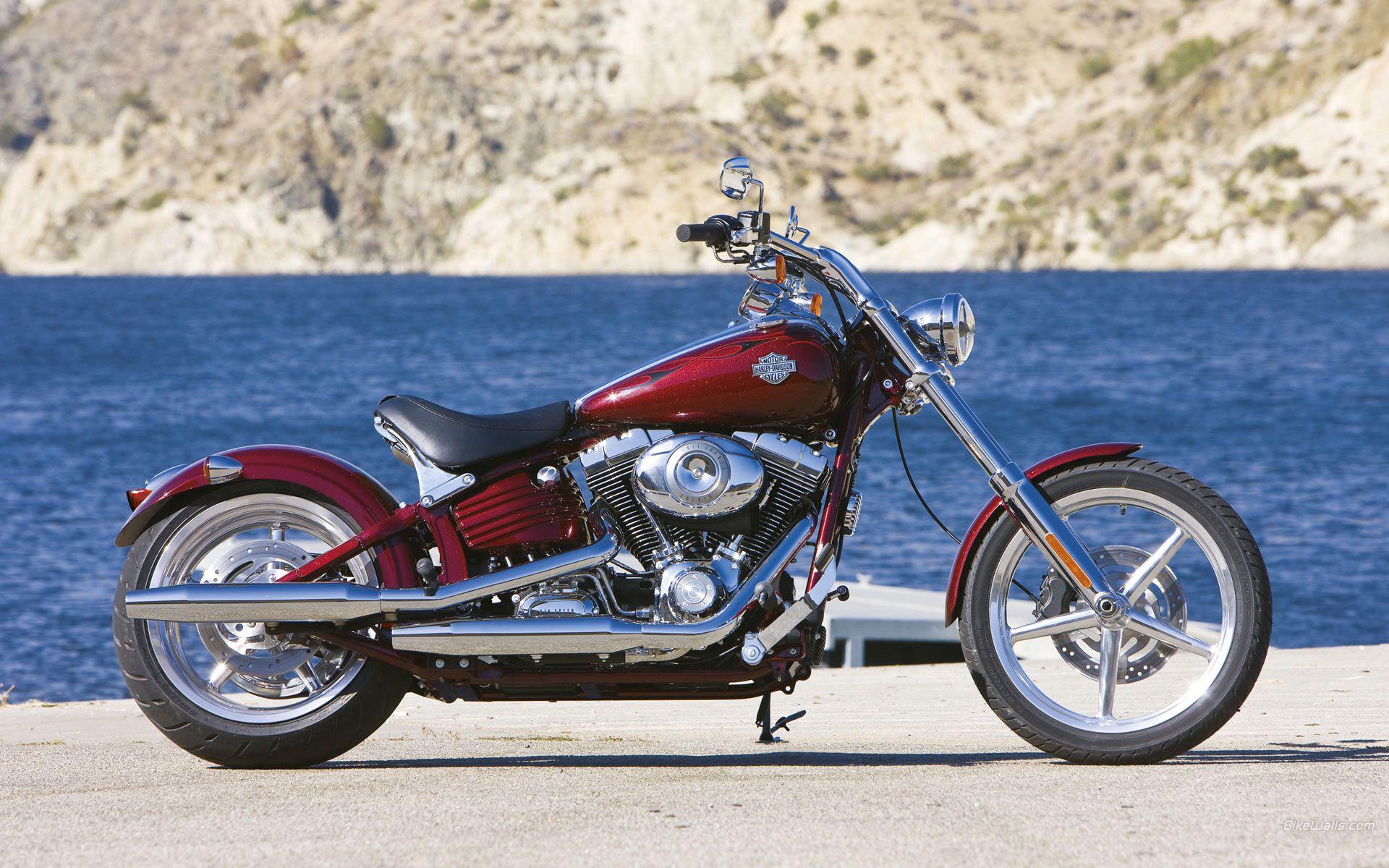 132589 скачать обои Мотоциклы, Harley-Davidson Rocker, Мотоцикл, House Of Thunder - заставки и картинки бесплатно