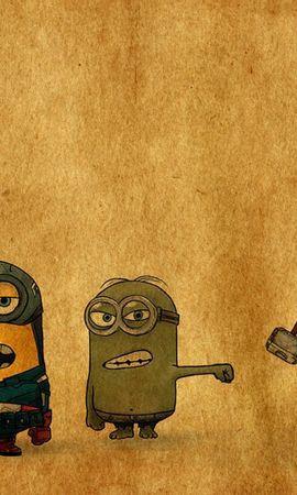 22150 скачать обои Юмор, Мультфильмы, Рисунки, Гадкий Я (Despicable Me) - заставки и картинки бесплатно