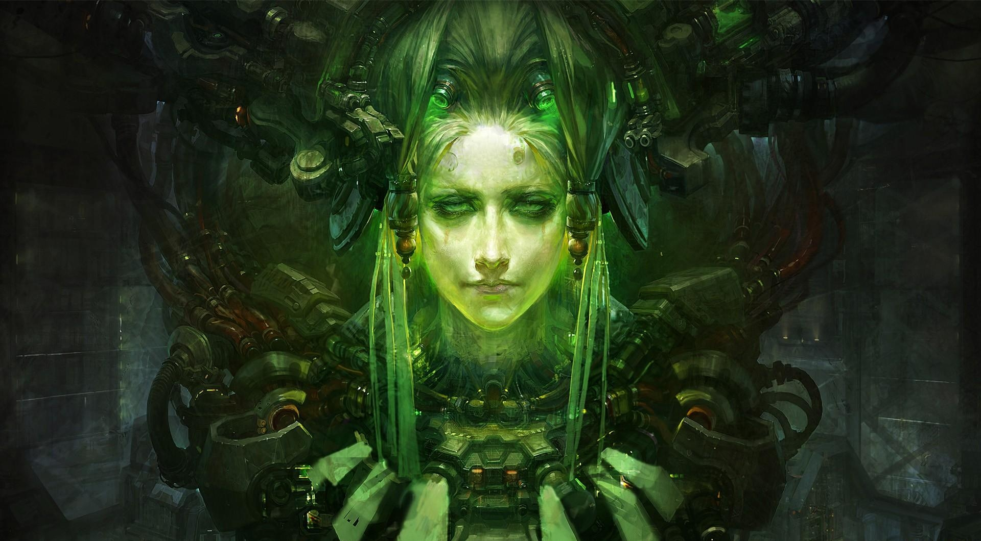 136373 Screensavers and Wallpapers Robot for phone. Download Robot, Fantasy, Shine, Light, Cyborg, Iron pictures for free
