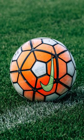 114970 Screensavers and Wallpapers Sports for phone. Download Sports, Soccer Ball, Football, Lawn, Grass pictures for free
