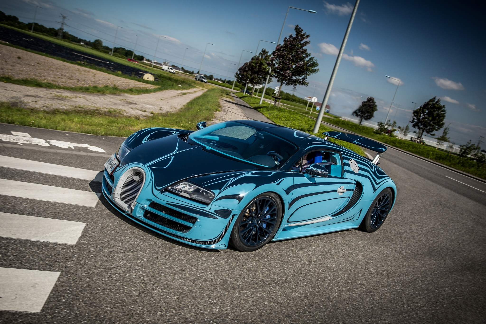 133606 download wallpaper Supercar, Sports, Bugatti, Cars, Veyron, Super, Saphir Bleu screensavers and pictures for free
