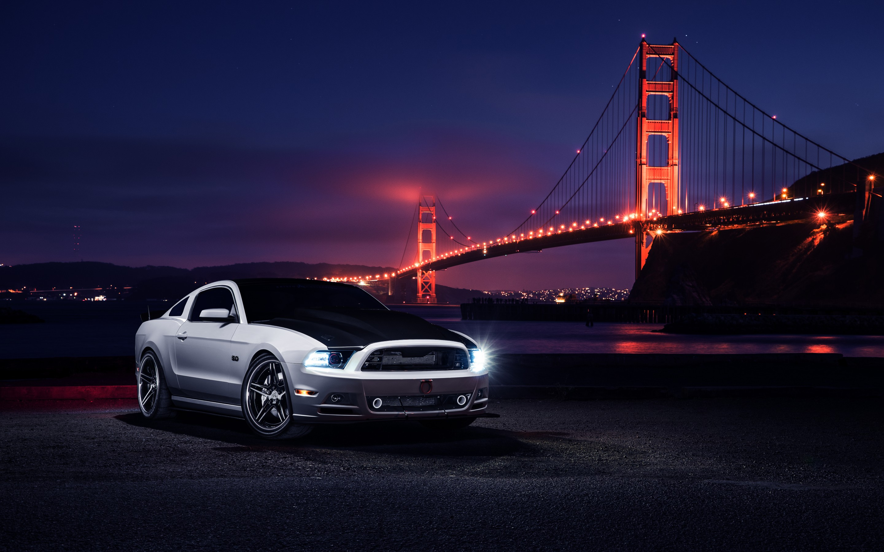 71902 download wallpaper Auto, Night, Ford, Mustang, Cars, Aristo screensavers and pictures for free