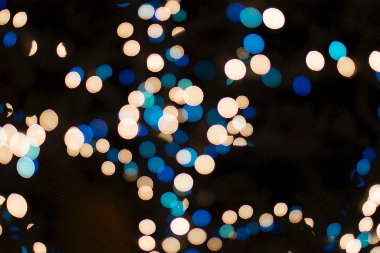 59844 免費下載壁紙 抽象, 灯光, 灯具, 明亮的, 明亮, 散景, 博克, 假期, 假日, 圣诞节, 新年, 界, 圆圈, 有色, 彩色 屏保和圖片