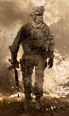 4742 скачать обои Игры, Мужчины, Modern Warfare 2 - заставки и картинки бесплатно