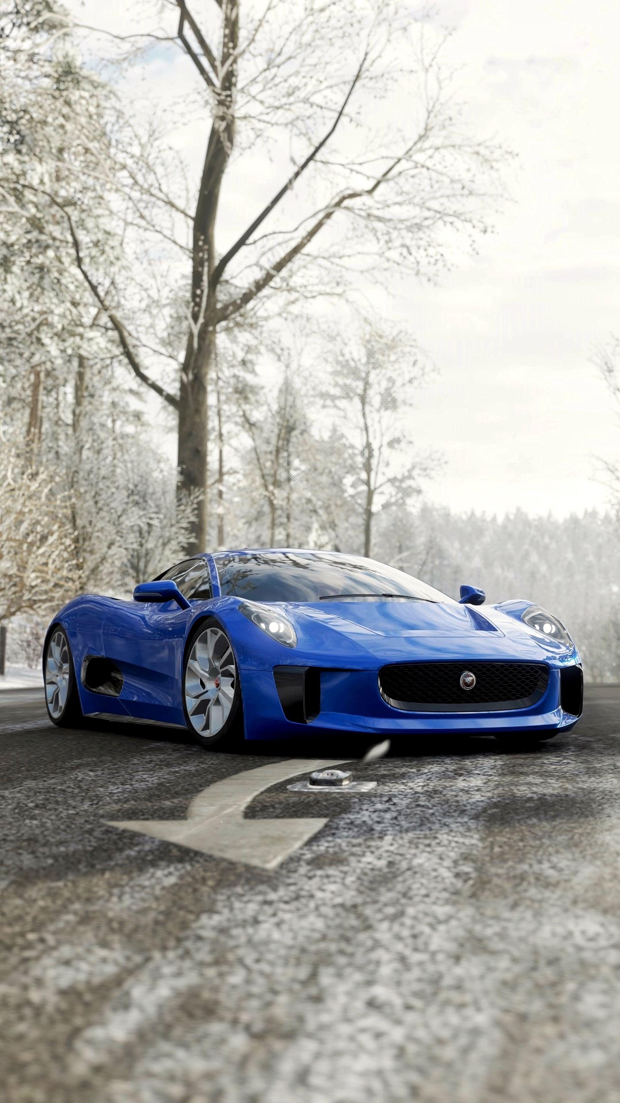 140383 download wallpaper Supercar, Sports, Jaguar, Cars, Sports Car, Jaguar C-X75 screensavers and pictures for free